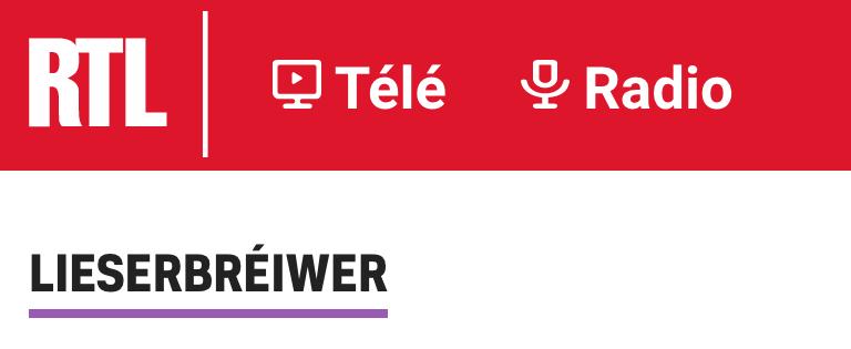 Lettre à Mr Treinen de RTL