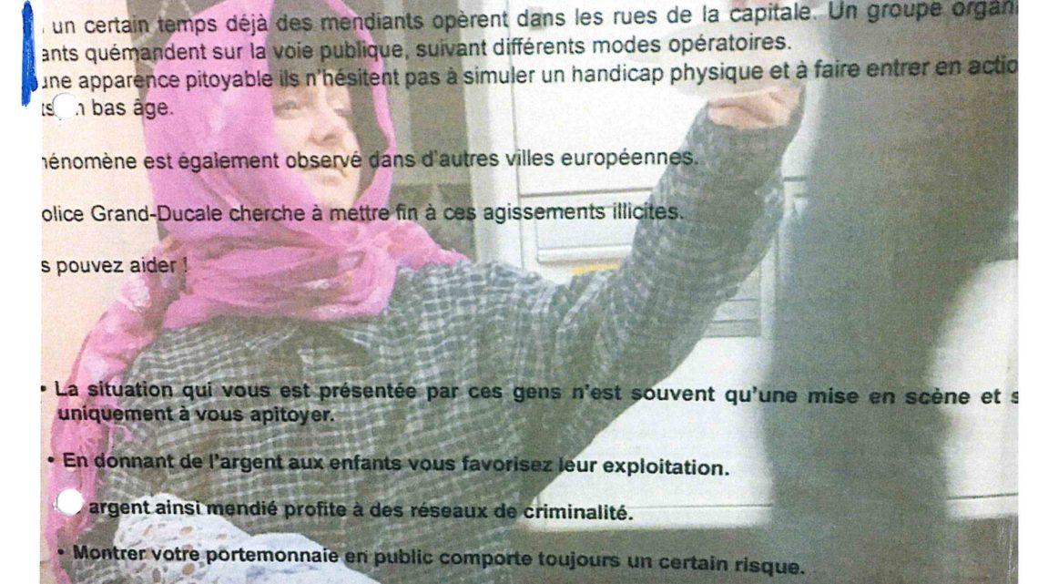 Lettre ouverte à Mme le Bourgmestre de la ville de Luxembourg